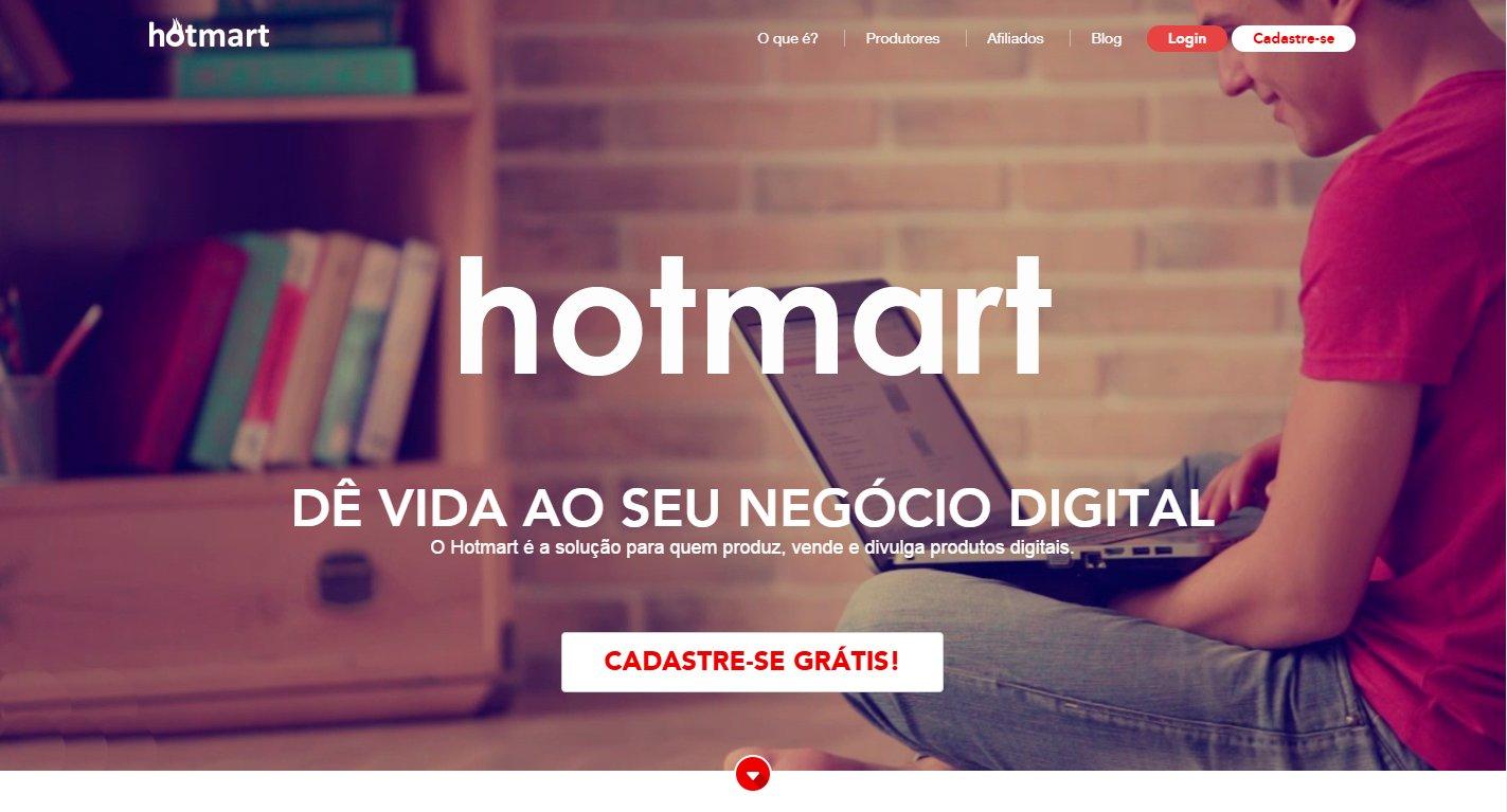 vender produtos Hotmart no Facebook e facil